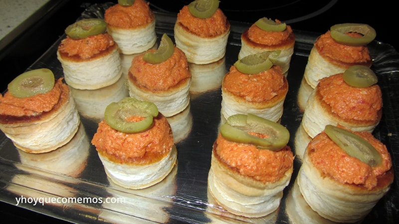 2 recetas de canastitas rellenas para canap s for Recetas para canape