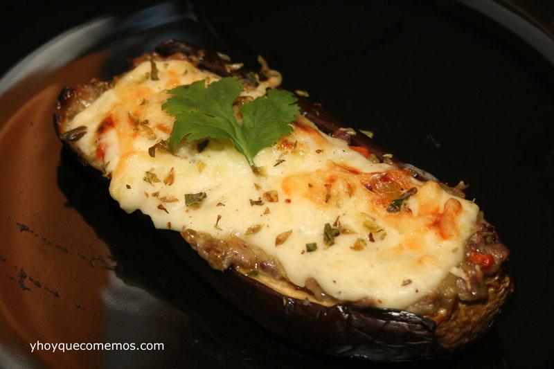 Berenjenas rellenas al horno recetas de cocina f cil - Berenjenas rellenas al horno ...