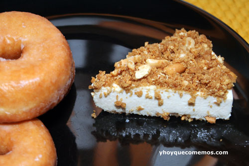 tarta de donuts