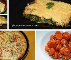 5 recetas con verduras