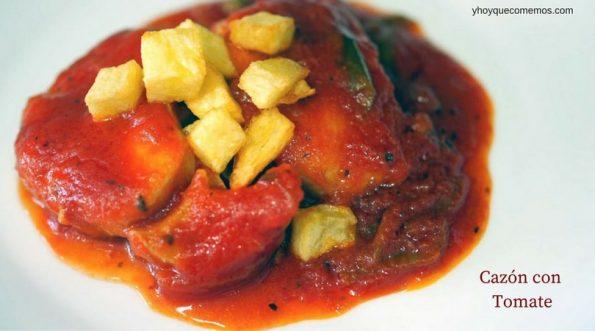 cazon con tomate