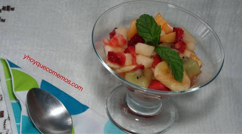 Macedonia de frutas recetas y hoy que comemos - Macedonia de frutas para ninos ...