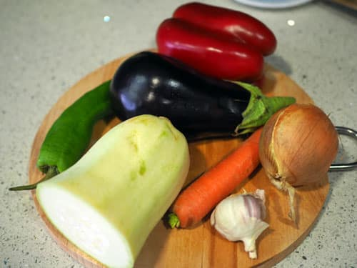 ingredientes-para-la-PAella-Vegetariana