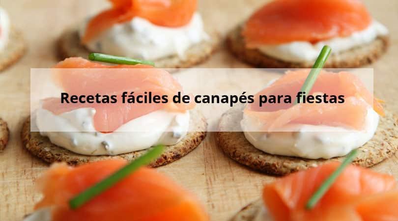 Recetas f ciles de canap s para fiestas y hoy que comemos for Canapes recetas faciles y economicas