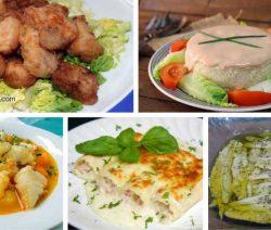 10 Recetas de Pescados y Mariscos