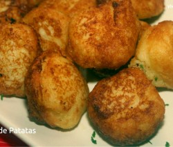 bunuelos de patatas