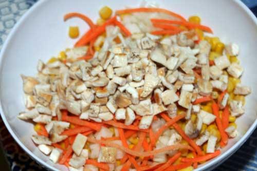 receta de ensalada de maiz