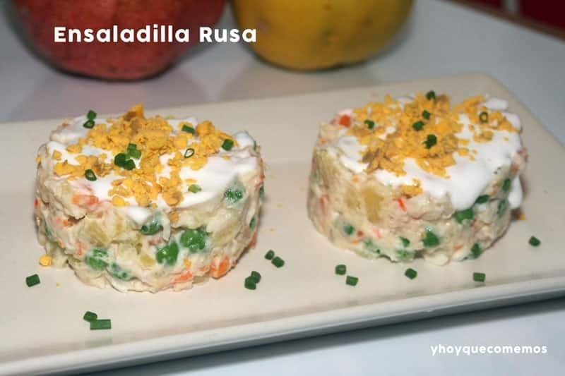 Cocina Rusa Recetas | Ensaladilla Rusa Recetas De Cocina Y Hoy Que Comemos