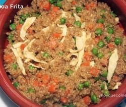 quinoa frita
