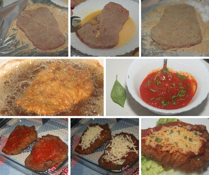 receta milanesa de ternera a la napolitana