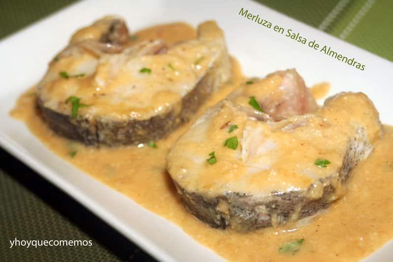 Merluza En Salsa De Almendras Recetas De Cocina Y Hoy