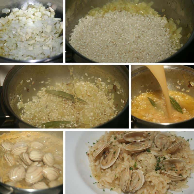 receta arroz con almejas