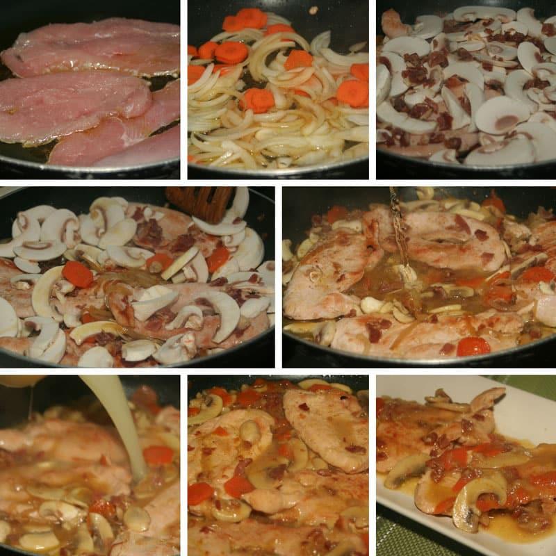 receta pavo a la castellana