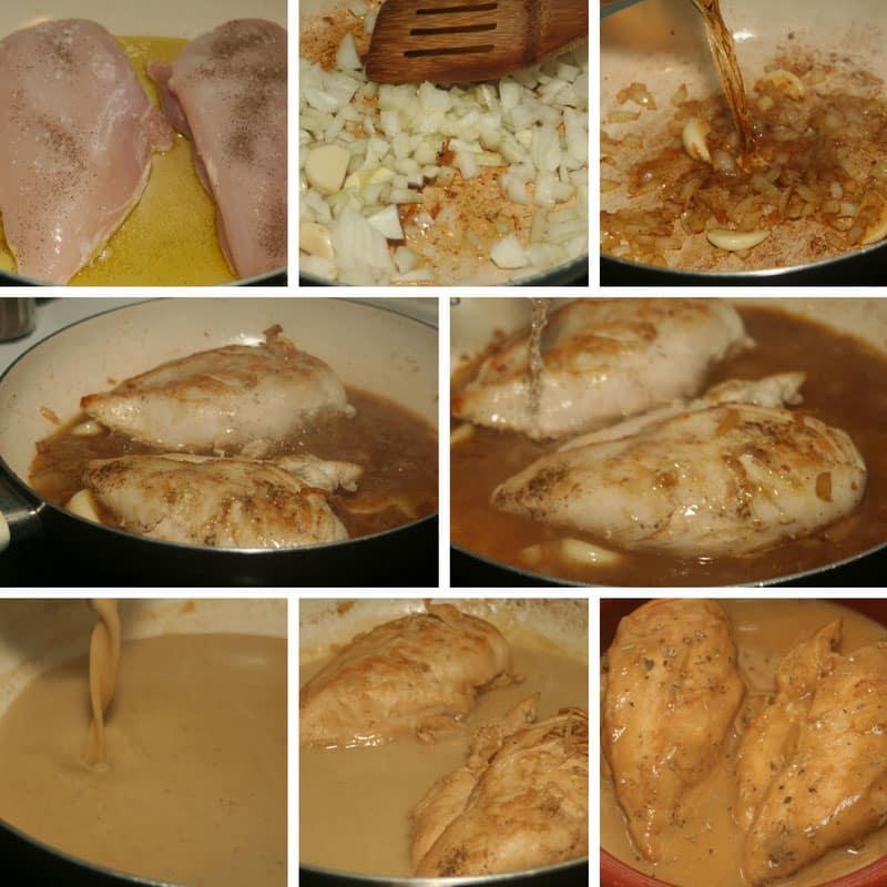 receta pechuga en su jugo