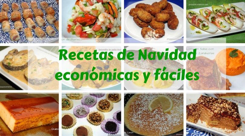 Recetas para navidad econ micas y f ciles recetas de cocina - Rectas de cocina faciles ...