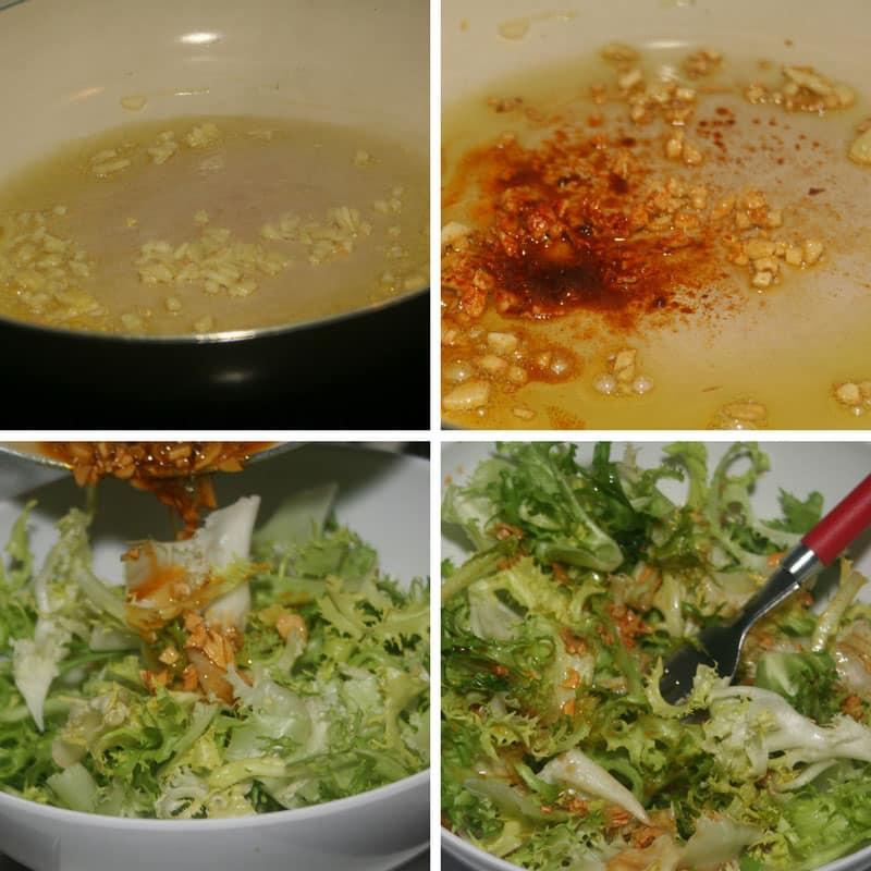 receta ensalada de escarola