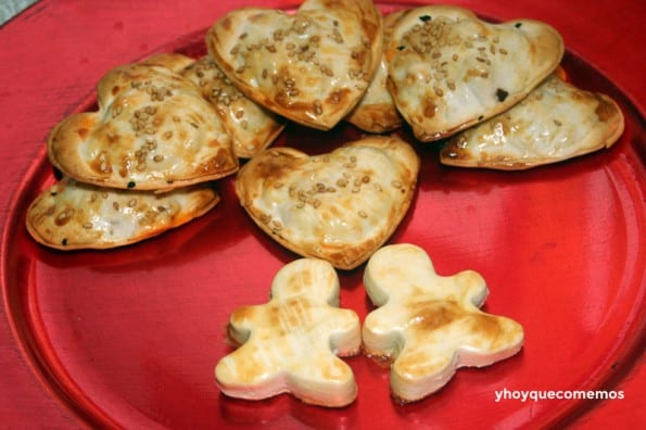 empanadillas para san valentin