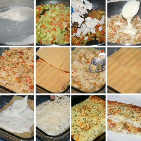 receta lasaña de pescado