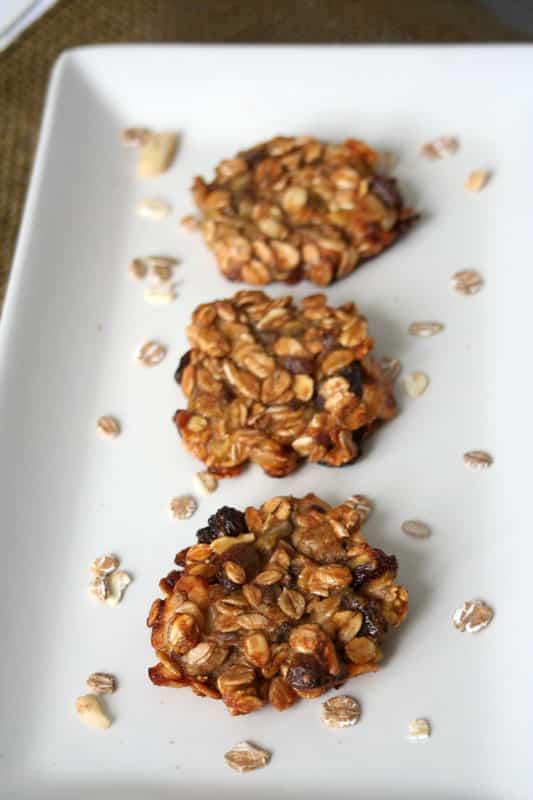 galletas de platano y cereales 2