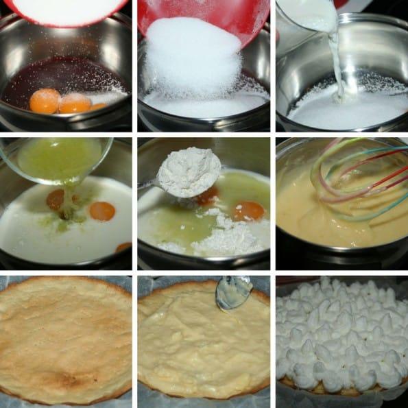 receta tarta de crema de limon y merengue
