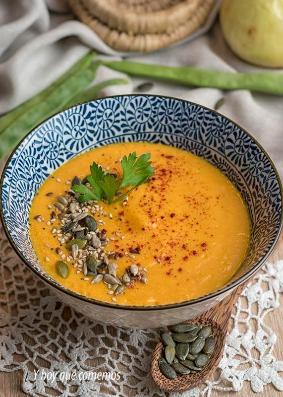 crema de zanahorias receta facil