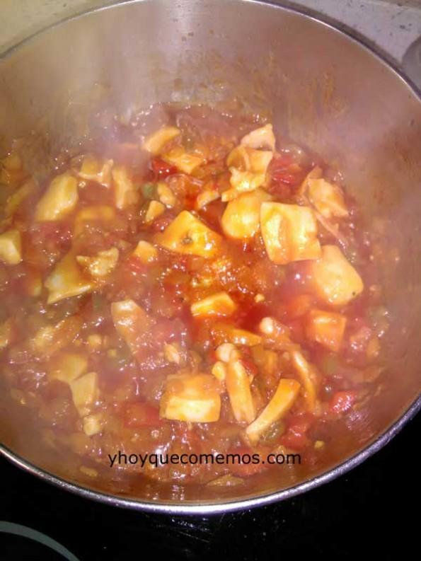 patatas-con-choco-y-gambas