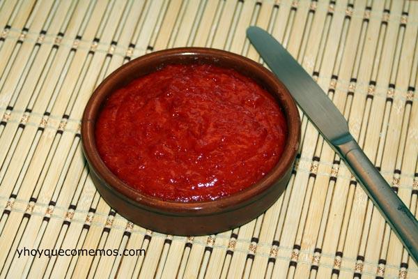mermelada de pimiento rojo