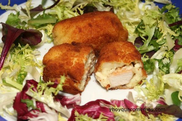 pechugas de pollo con bechamel