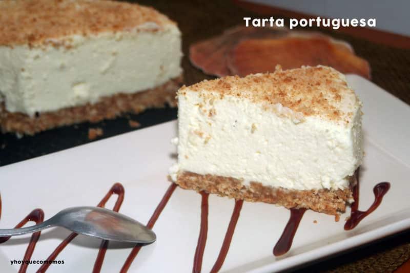paso a paso receta tarta portuguesa
