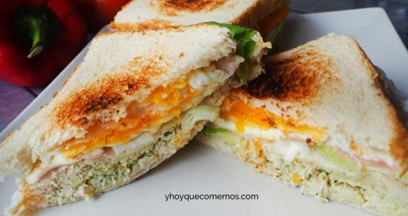 sandwich de pollo receta 1