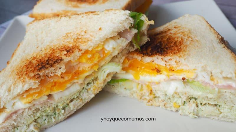 sandwich de pollo receta 2