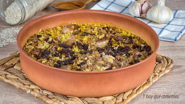 cocina de aprovechamiento arroz con pringa
