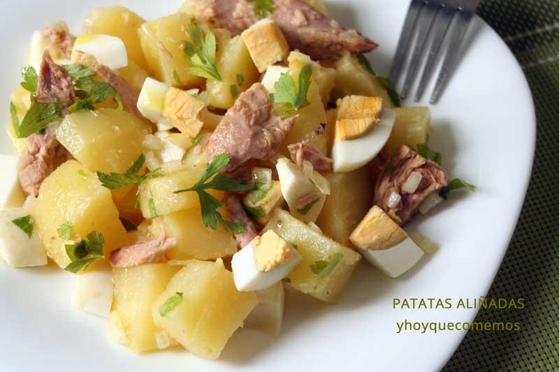 patatas aliñadas