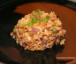 arroz con jamon