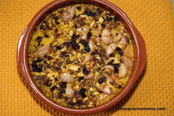 arroz con pringa