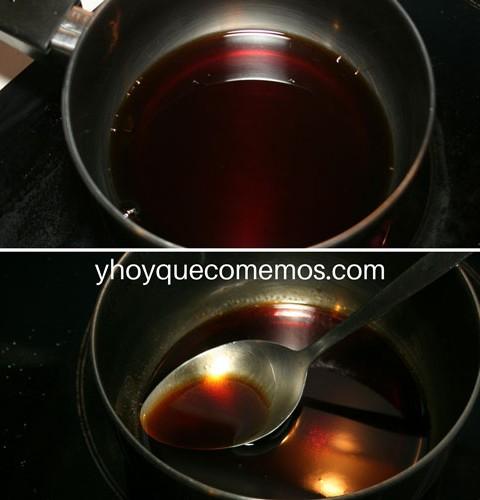 reduccion-pedro-ximenez para el queso de cabra