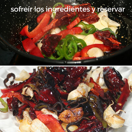 migas: sofreir-los-ingredientes-y-reservar