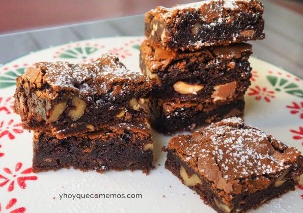 brownie de chocolate receta 1