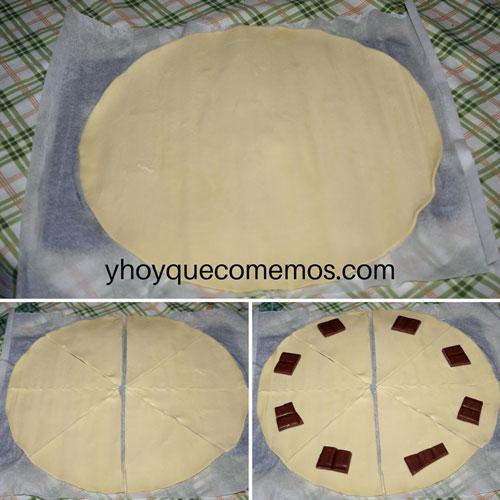 cortar-la-masa-de-hojaldre-en-forma-de-pizza