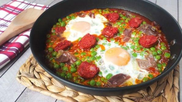Huevos A La Flamenca Recetas Y Postres Y Hoy Que Comemos