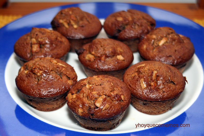 muffins-de-chocolate