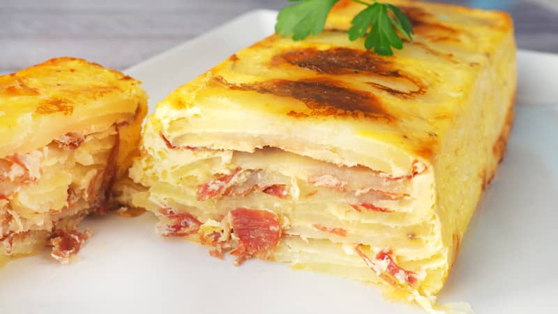 pastel de patata y jamon 2