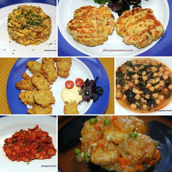6 recetas faciles con bacalao