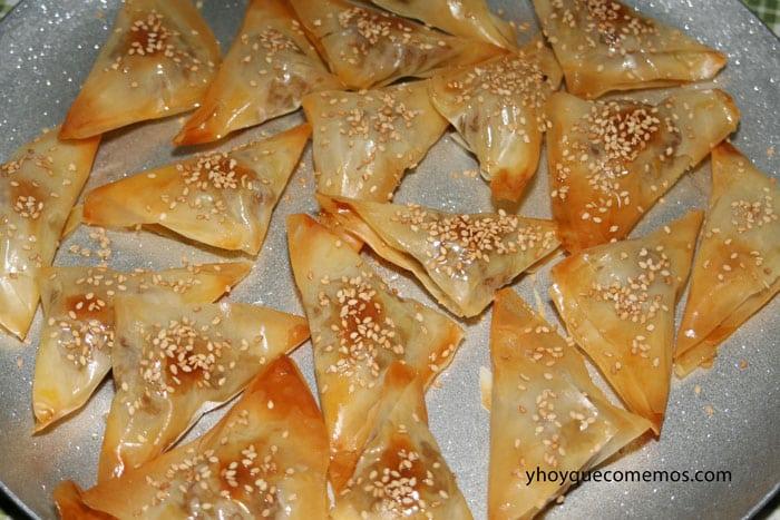 pastelitos o dulces arabes