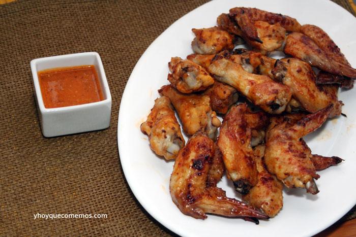 Alitas-de-Pollo-con-Salsa-Barbacoa