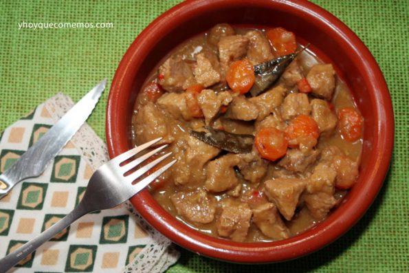 Carne-de-Cerdo-en-Salsa