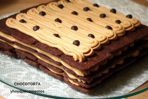 Chocotorta (Tarta de Galletas y Dulce de Leche) receta