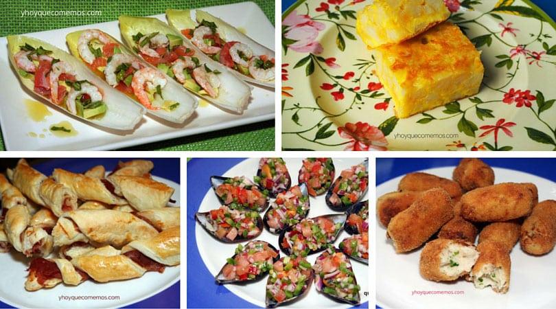 14 recetas de aperitivos y tapas