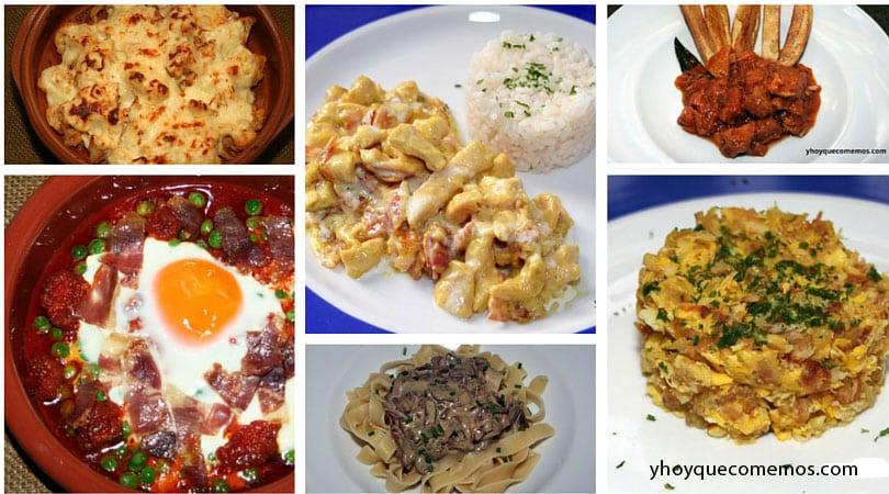 6 ideas de primeros platos recetas y hoy que comemos