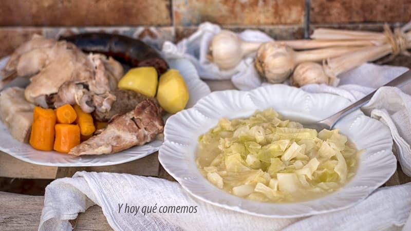 receta cocido de col paso a paso